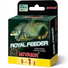 MIVARDI Vlasec Royal Feeder Green 200 m