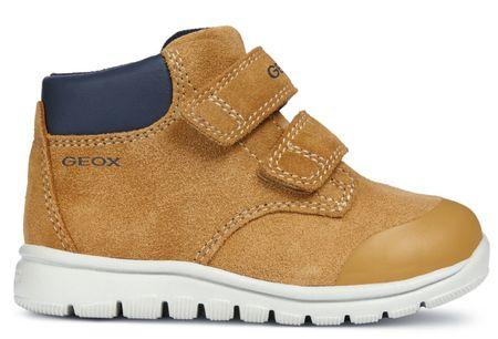 Geox buty za kostkę chłopięce Xunday 25 brązowe