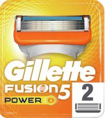 Gillette Fusion nadomestna rezila, 2 kosa