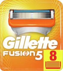 Gillette Fusion nadomestne glave, 8 kos