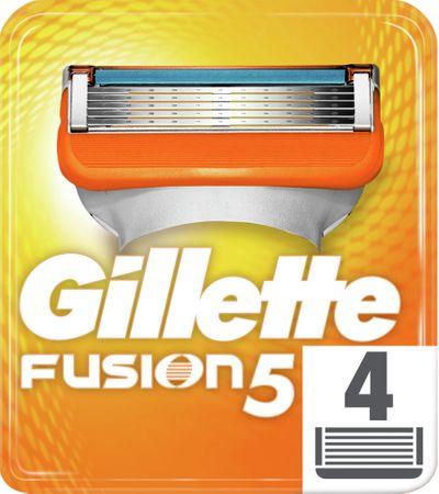Gillette nadomestna rezila Fusion, 4 kosi