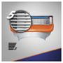 3 - Gillette nadomestna rezila Fusion, 4 kosi
