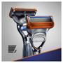 3 - Gillette maszynka do golenia Fusion + 2 głowice
