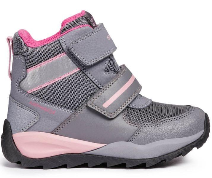 Geox dívčí zimní boty Orizont 35 šedá