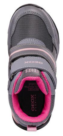 1fe92f74126 Geox dívčí zimní boty Orizont 29 šedá