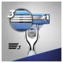 3 - Gillette brivnik Mach3 Turbo Aloe + 2 glavi