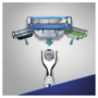 4 - Gillette brivnik Mach3 Turbo Aloe + 2 glavi