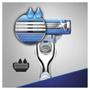 6 - Gillette brivnik Mach3 Turbo Aloe + 2 glavi