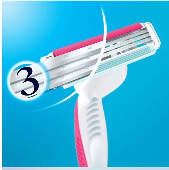 Gillette Simply Venus 3 Plus Pink žiletky 6ks