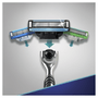2 - Gillette ročni brivnik Mach 3 + 4 nadomestne glave + držalo