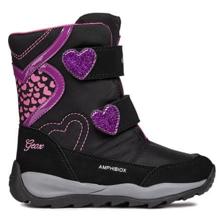 Geox dievčenské zimné topánky Orizont 35 čierna - Diskusia  f70b2abb342