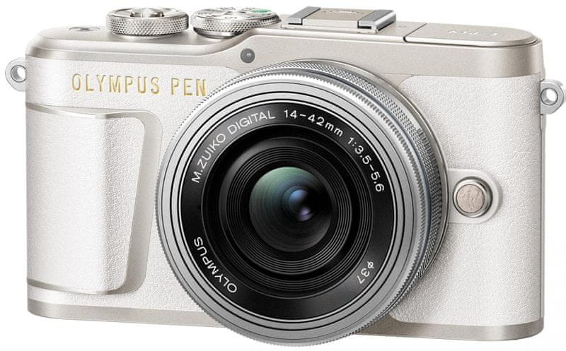 Olympus E-PL9 + 14-42 EZ White Traveler Kit (V205092WE000TK)
