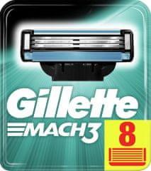 Gillette Mach3 nadomestna rezila 8 kosov