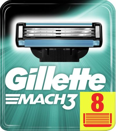 Gillette wkłady do maszynki Mach3 - 8 sztuk