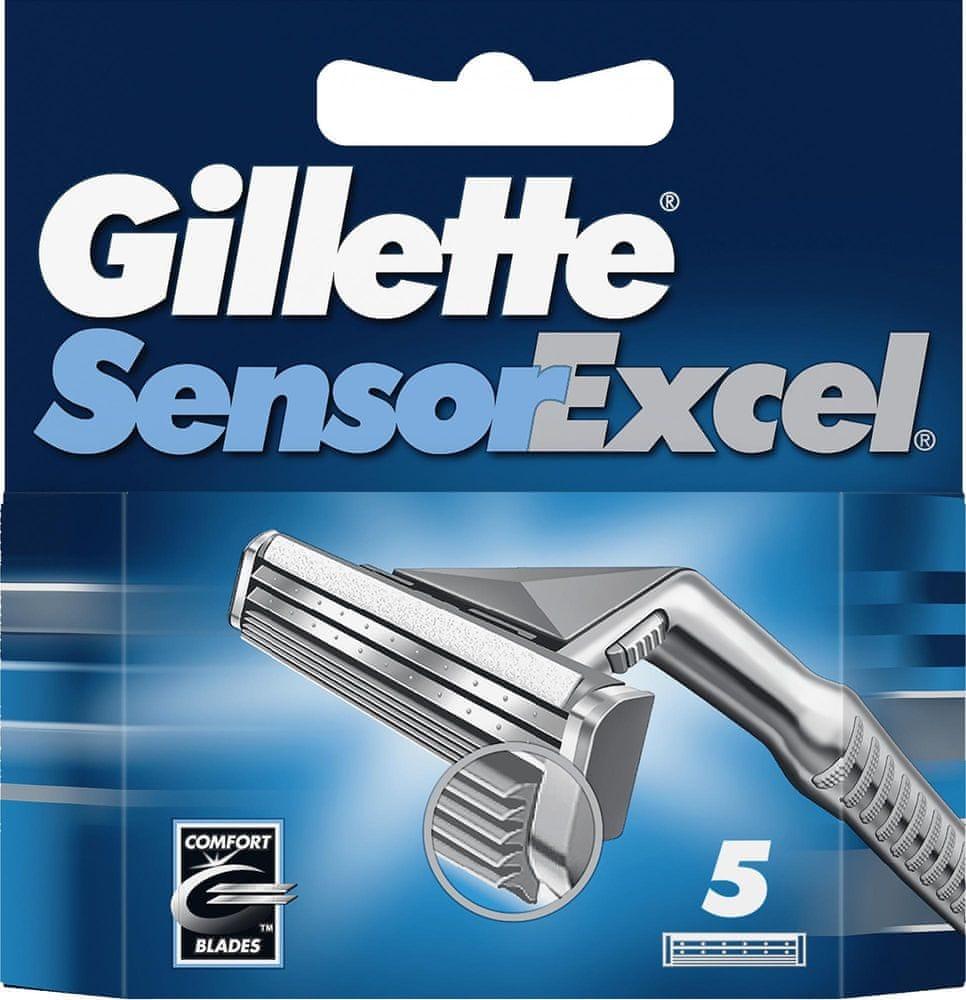 Gillette SensorExcel Hlavice k holicímu strojku 5 ks