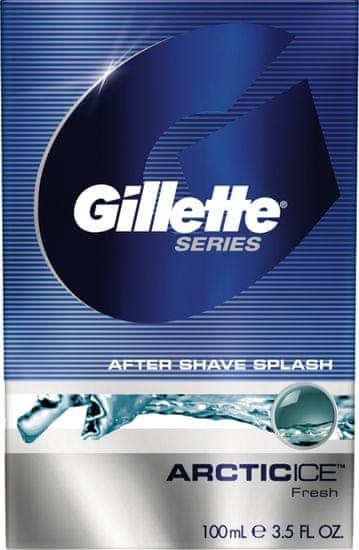 Gillette Series Arctic Ice Voda po holení 100 ml