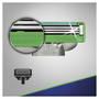 7 - Gillette nadomestne glave MACH3 Sensitive, 4 kos