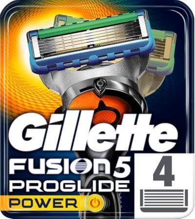 Gillette zamjenska oštrica Fusion ProGlide Power, 4 komada