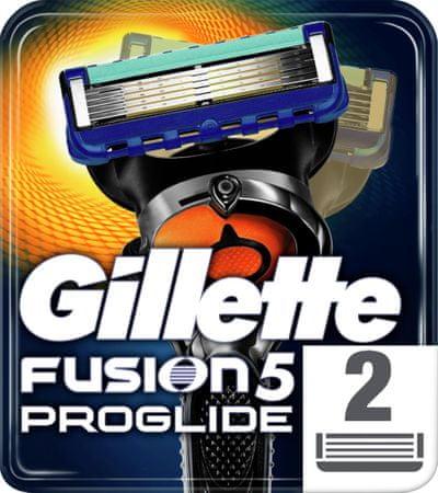 Gillette Fusion Proglide nadomestna rezila Manual, 2 kosa
