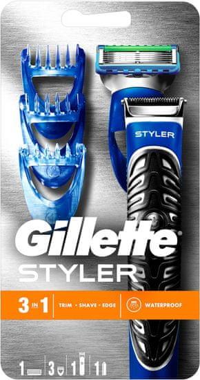 Gillette prirezovalnik in brivnik Fusion Proglide Power Styler