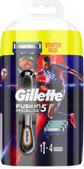 Gillette Fusion ProGlide Flexball brivnik + 4 rezilne glave