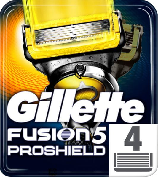 Gillette Fusion5 ProShield holicí hlavice pro muže 4 ks