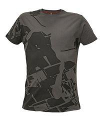 Assent Pánske tričko s krátkym rukávom Timaru sivá S