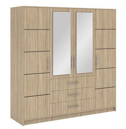 BAALI D4 šatní skříň, dub sonoma