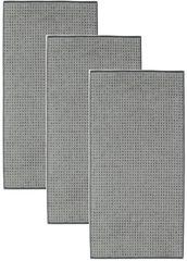 Cawö Frottier ručník Sense, Allover, 3 ks