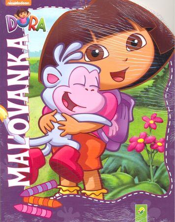 autor neuvedený: Dora-maľovanka