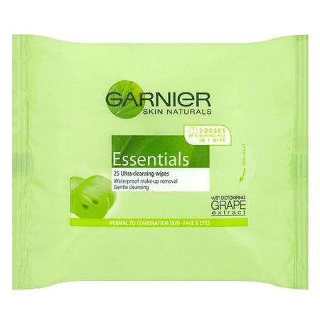 Garnier Odličovací ubrousky Essentials 25 ks