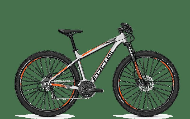 Focus Whistler Evo 29 2018 Silver Matt horské kolo, vel. L