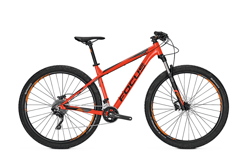 Focus Whistler Lite 29 2018 Hot Chilli Red horské kolo , vel. M