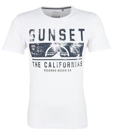 s.Oliver T-shirt męski XXL biały