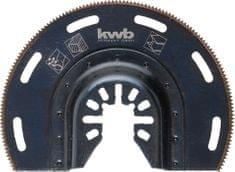 KWB polkrožni nastavek za rezanje lesa, plastike, kovine, aluminija (709450)
