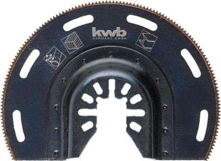 KWB polukružni nastavak za rezanje drva, metala, plastike, aluminija (709450)