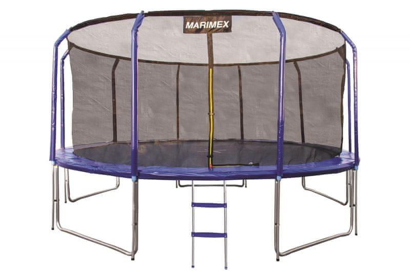 Marimex Trampolína 457 cm s ochrannou sítí a žebříkem