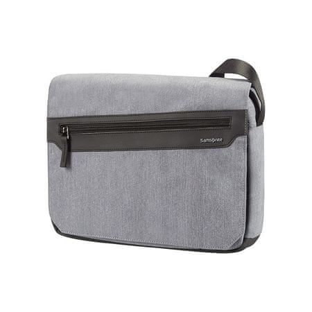 Samsonite naramna torba Hip-Style 2 Messenger, siva