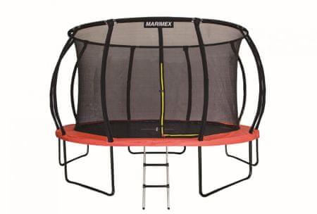 Marimex Trambulin Premium 457 cm védőhálóval és létrával