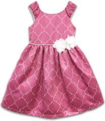 Joe and Ella dekliška obleka Evelyn Rose, roza