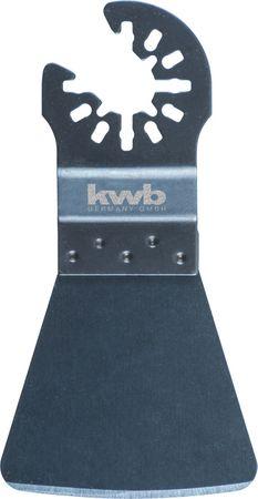 KWB nastavek za strganje lepila in silikona, 52 x 45 mm (709642)
