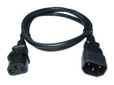 Samurai Power komplet povezovalnih kablov IEC 10A C13/C14 1,80 m, 5 kosov