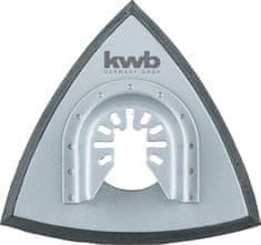 KWB trikotni nastavek za brusni papir QUICK-STICK, 93 mm (709940)
