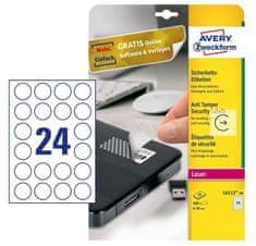 Avery Zweckform Etikete Zweckform L4773 63,5 x 33,9 mm, bijele, paket 20 listova