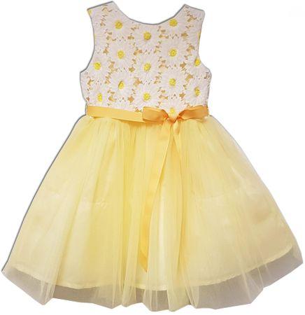 Joe and Ella Lány ruha Sunny - sárga 104