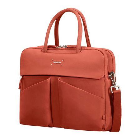 Samsonite ženska poslovna torba Lady Tech, 35,8 cm, rdeča