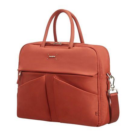 Samsonite ženska poslovna torba Lady Tech, 39,6 cm, rdeča