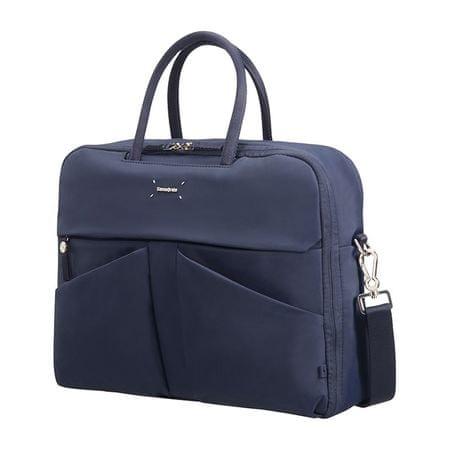 Samsonite ženska poslovna torba Lady Tech, 35,8 cm, temno modra
