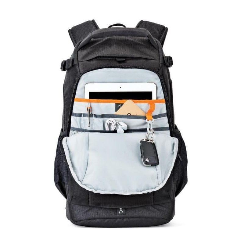 fotobatoh na notebook Lowepro Flipside 300 AW II E61PLW37127 fotobatoh pláštěnka boční kapsy vnitřní kapsy