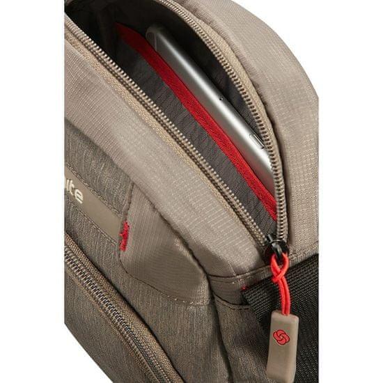 Samsonite naramna torbica Rewind, siva